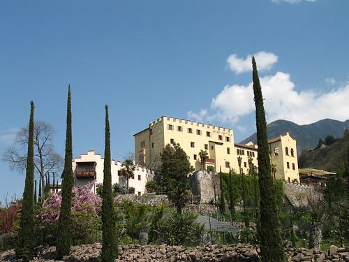Schloss Trauttmansdorff bei Meran