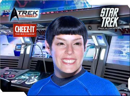 Me as a Vulcan!