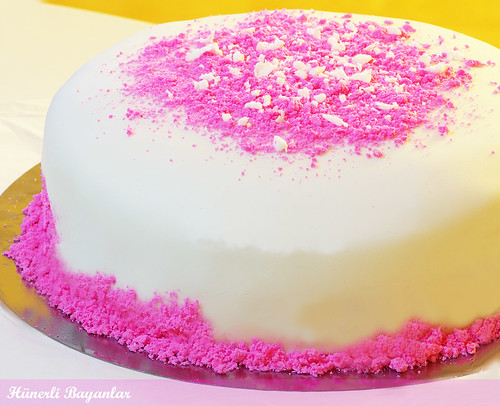 İlk Şeker Hamurlu Pastam