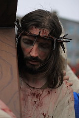 Suffering (Daves shots) Tags: christ roman jesus limerick passionplay goodfriday newcastlewest lcfe
