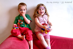 2 years old today ( - s  ) Tags: portrait twins toddlers portret karel madelief tweeling peuters vermaanddag