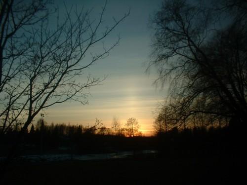 Sun of evening!