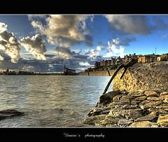 panoramica neguri :: HDR (unai momoitio) Tags: blue sky texture water stone clouds photoshop landscape spain europe 28 bizkaia euskalherria hdr euskadi paisvasco cs3 neguri photomatix tonemapped tonemapping 1424mm unaisa
