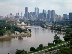 a view of Philadelphia (Anitab) Tags: philadelphia skyline zoo waterworks boathouserow schuylkillriver philadelphiaartmuseum williampenn balloonride philadelphiacityhall