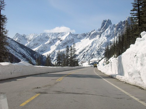 Liberty Bell Mountain - SR 20, North Cascades Highway