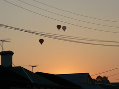 Balloonrise over Brunswick