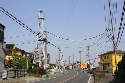 鴨田中居田の火の見櫓