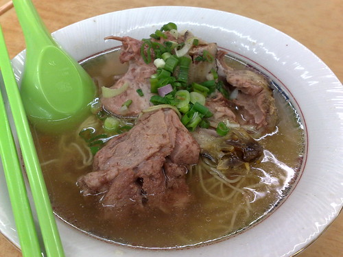 duck thigh noodle