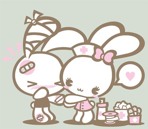 Nurse Bunny (by Menina Pantone)