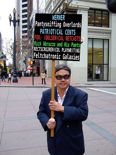 Fake Frank Chu Sign