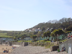 Langland (Heulwen Lewis) Tags: beach huts