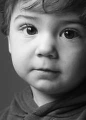 Who will you become? (Rakan Arnaout) Tags: portrait bw canon 50mm toddler child f28 blacandwhite eos450d aplusphoto flickraward platinumheartaward rebelxsi