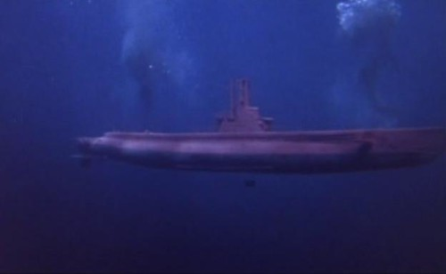 the pink submarine in Operation Petticoat
