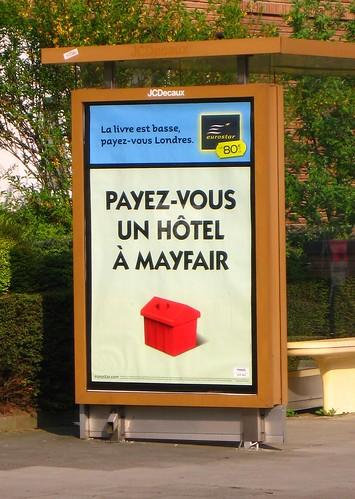 Payez-vous un hôtel à Mayfair