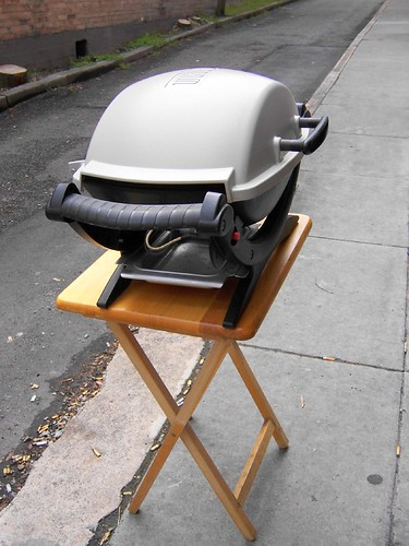 grill in the alley