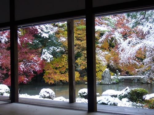 Rengeji snow scene