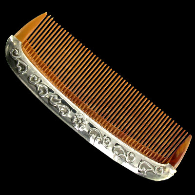 Sterling Silver Baby Comb