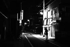 sake bar (summerrunner) Tags: street city shadow summer people japan night 35mm lights nikon flickr snapshot adobe nikkor 2008 生活 lightroom d80