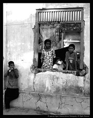 Orphaned (The Psychedelic Illusionist) Tags: bw wall kids children coast natural destruction wave orphans tsunami disaster srilanka trauma tradgedy theartofphotography