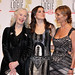 """The 51st TV Week Logie Awards 2009 _ The cast of """"Bed of Roses"""" _ Julia Blake, Hanna Mangan-Lawrence(M) and Kerry Armstrong"""