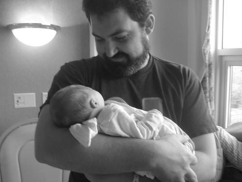 122/365 - 2 May [John and Baby]
