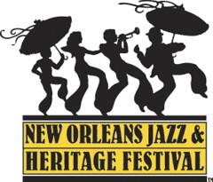 New Orleans Jazz & Heritage Festival logo