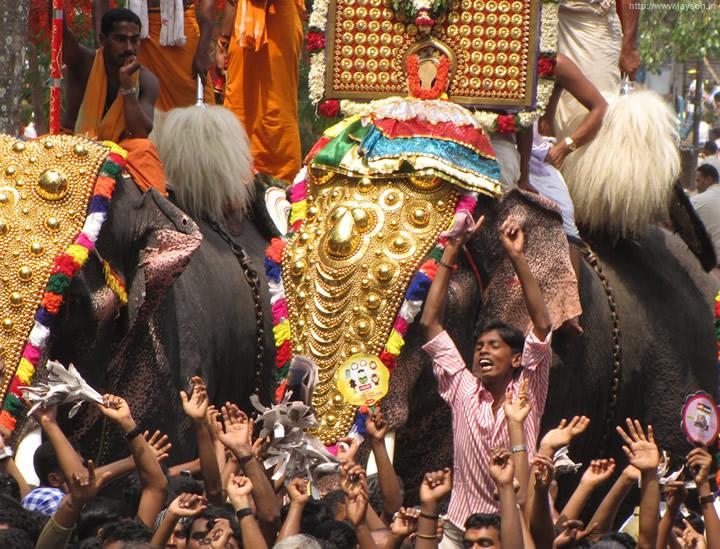 thrissur pooram - Pooram fever