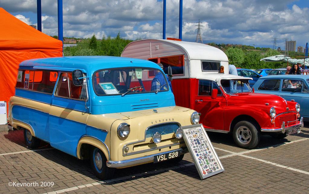 Bedford Kenbrake Minbus(Left) & The Snail (Right)
