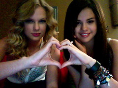 Taylor and Selena (Selenademi920) Tags: seattle friends love concert montana friendship heart hannah ring lucas journey till taylor swift selena gomez braclets selenademi920