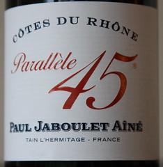 Paul Jaboulet Aine 2006 Parallele 45