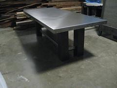 Galvanized Table