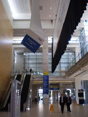 X-Board - fabric hung printed ceiling cube_Nokia