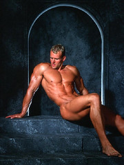 (mansizedarena) Tags: sexy pecs muscle beef nate blonde biceps stud christianson