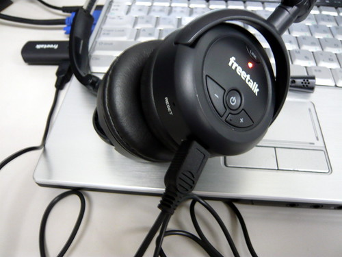 FreeTalk wireless headset