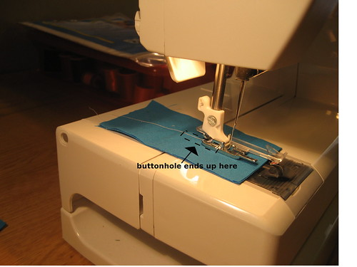 Husqvarna/Viking Buttonhole Attachment Tutorial