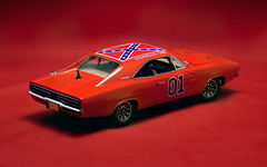 ERTL Authentics - The Dukes of Hazzard 1/18 General Lee Dodge Charger (02) (Sevi_Lwa) Tags: orange 1969 collectible generallee modelcar dodgecharger 118 diecast ertl 118scale rc2 thedukesofhazzard authentics 39505