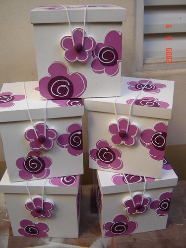 trio caixas · caixa presente · caixa para presente