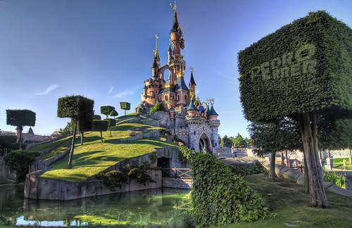 Disneyland Paris - Castillo de la bella durmiente