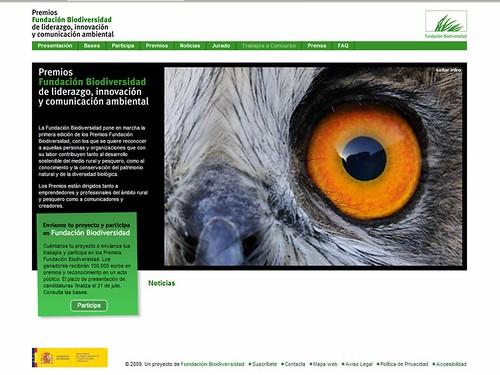 Premios Fundación Biodiversidad 2009