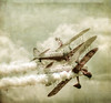Wingwalkers.. (jetbluestone) Tags: two texture clouds smoke double hdr act biplane skincare wingwalkers guinot