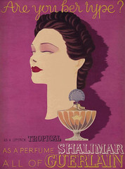 Darcy ad for Guerlains Are You Her Type? ad campaign