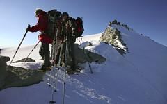 in cresta (Signalkuppe 4:3) Tags: ticino svizzera montagna ghiacciaio cappa capanna utoe levantina bresciana adula
