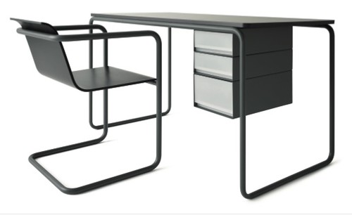 thonet desk at remodelista