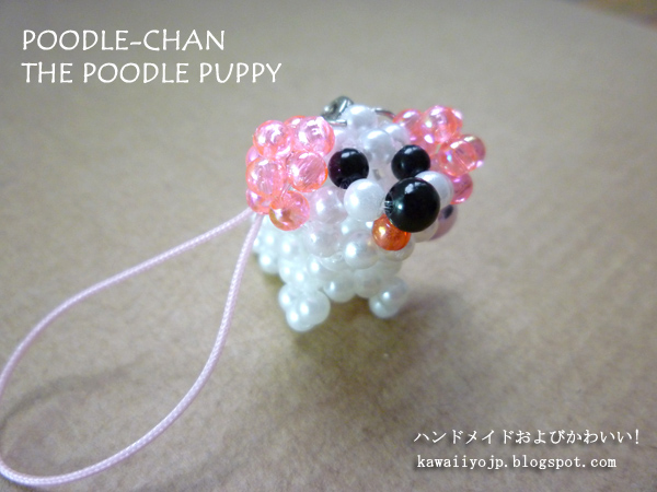 HP5-Poodle(Pink&White)