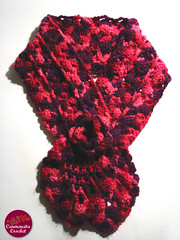 "Bufanda ""Strawberry"" (Carmencita Crochet) Tags: chile pink santiago"