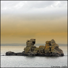 """Pointe de Crozon""- Morgat - Finistre (Corinne DEFER - DoubleCo) Tags: travel sea sky mer france nature landscapes brittany bretagne ciel nuage nuages paysage paesaggi paysages rochers paisagens landschaften finistre  morgat presquiledecrozon carrfranais corinnedefer portdemorgat updatecollection newgoldenseal"
