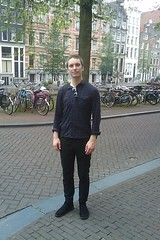Me in Amsterdam, around the nine streets