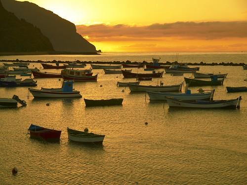Barcas en las Teresitas 2 - Tenerife