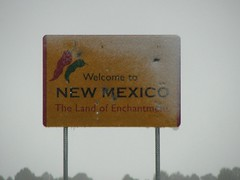 IMG_10707 (old.curmudgeon) Tags: newmexico sign roadsign picnik throughthewindshield 5050cy welcometo–