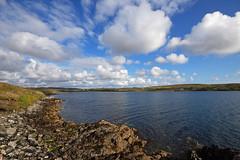 Cleggan Bay (Irishstones) Tags: ireland galway clouds connemara bigsky cleggan clegganbay